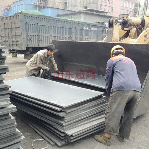 安装煤仓衬板